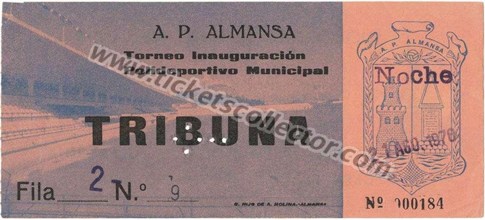 Polideportivo de Almansa