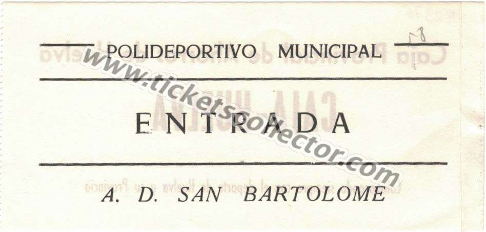 AD San Bartolomé