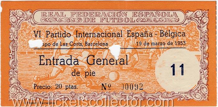 1953-03-19 España Bélgica