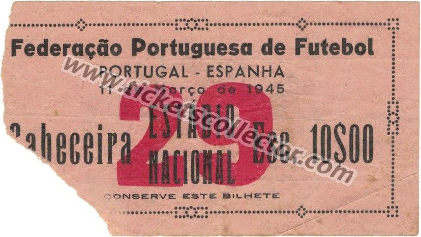 1945-03-11 Portugal España