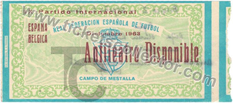 1963-12-13 España Bélgica