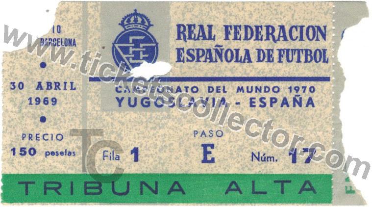 1969-04-30 España Yugoslavia