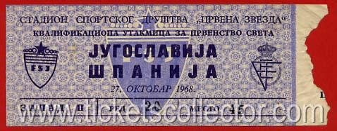 1968-10-27 Yugoslavia España