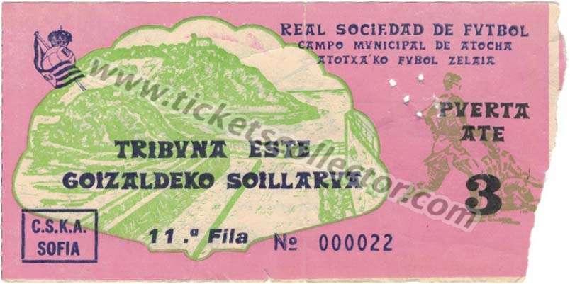 C1 1981-82 Real Sociedad CSKA
