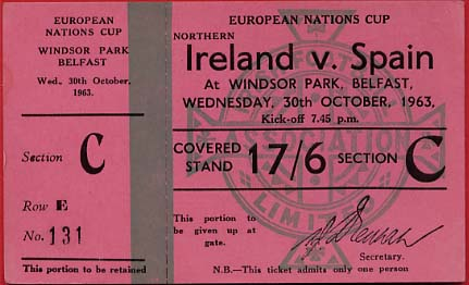 1963-10-30 Irlanda del Norte España