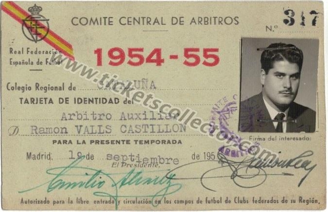 1954 Árbitro