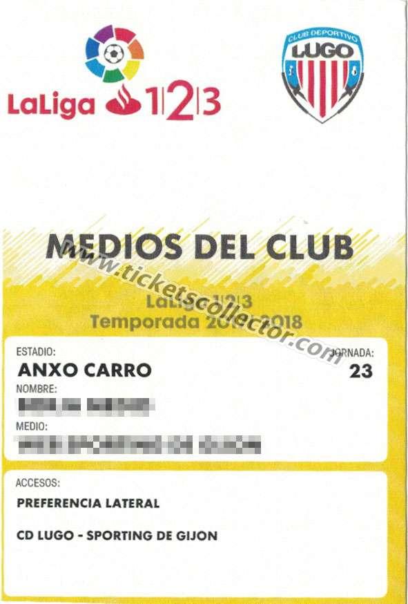 LFP 2017-18 Medios del club (amarillo)