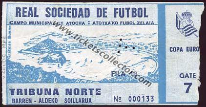 C1 1982-83 Real Sociedad Celtic