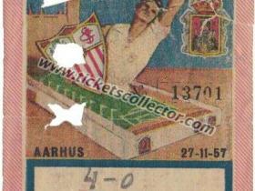 C1 1957-58 Sevilla Aarhus