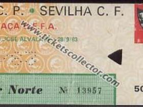 C3 1983-84 Sporting Lisboa Sevilla
