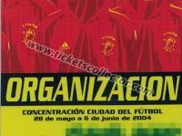 2004 Concentración Eurocopa