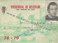 1978 Credencial de Delegado