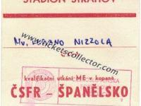 1990 Checoslovaquia España