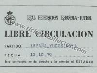 1979 España Yugoslavia