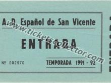 AD Español de San Vicente