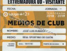 LFP 2018-19 Medios del club (amarillo)