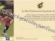 2008 España Chile