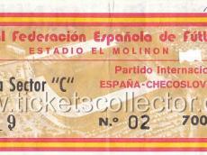 1980-04-14 España Checoslovaquia