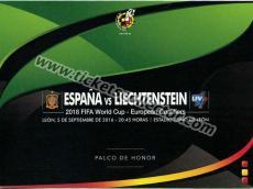 2016 España Liechtenstein