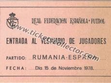1978 España Rumanía II
