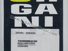 2003 España Noruega