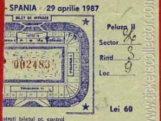 1987-04-29 Rumanía España