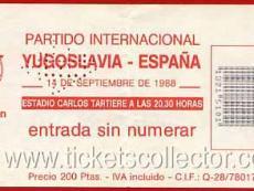 1988-09-14 España Yugoslavia