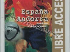 2004 España Andorra