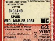 1981-03-25 Inglaterra España