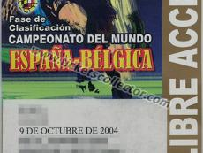 2004 España Bélgica