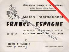 1968 Francia España