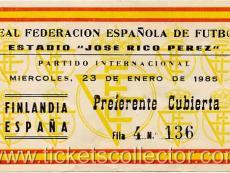 1985-01-23 España Finlandia