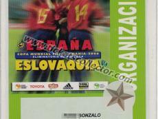 2005 España Eslovaquia
