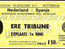 1983-11-16 Holanda España
