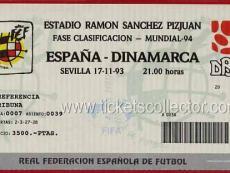 1993-11-17 España Dinamarca