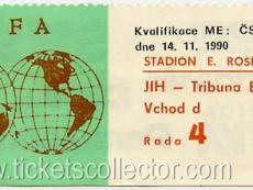 1990-11-14 Checoslovaquia España