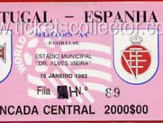 1992-01-15 Portugal España
