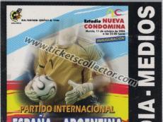2006 España Argentina