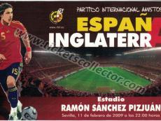2009 España Inglaterra