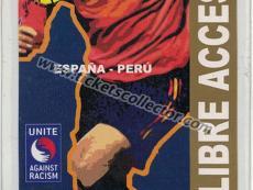 2004 España Perú