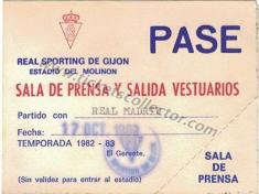 1982-83 Sporting Real Madrid