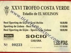 Sporting de Gijón Sporting de Lisboa