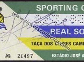 C1 1982-83 Sporting Lisboa Real Cociedad