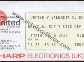 C3 1982-83 Manchester United Valencia