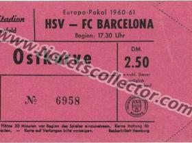 C1 1960-61 HSV Barcelona