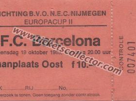 C2 1983-84 Nijmegen Barcelona