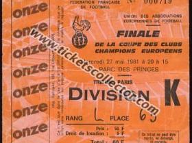 C1 1980-81 Real Madrid Liverpool