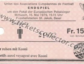 C2 1978-79 Farcelona Fortuna Dusseldorf