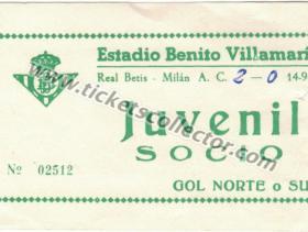 C2 1977-78 Betis Milán