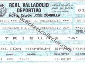 C2 1989-90 Valladolid Hamrum Spartans